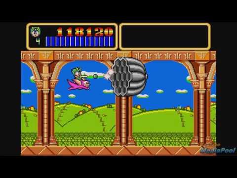 1990 Wonder Boy III: Monster Lair (Sega Genesis) Game Playthrough Video Game
