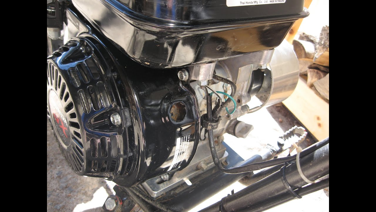 how to disable low oil sensor on honda gx200 and clones [ 1280 x 720 Pixel ]