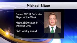 Bitzer Named WCHA Defensive Player of the Week - Lakeland News Sports - October 12, 2015