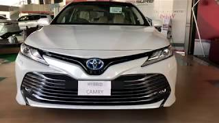 Toyota Camry Hybrid 2018-2019 Short overview/Pakistan