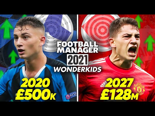 10 Football Manager 2021 Wonderkids You HAVE To Sign!