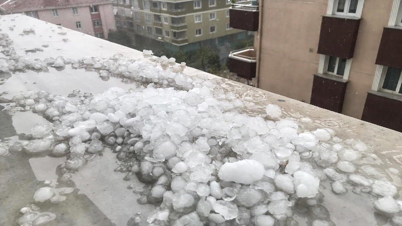 Severe Hail Hits Istanbul, Turkey - Sept. 29, 2020