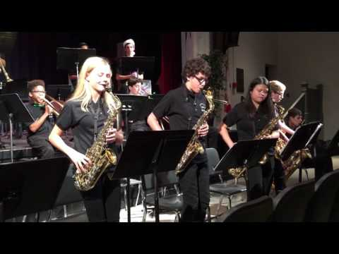 Jingle Bell Rock performed by Lakeview middle school Jazz Ensemble