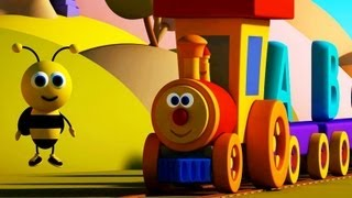 Nursery Rhymes By Kids Baby Club - Ben The Train -  Ben and Bumblebee meet the Alphabets