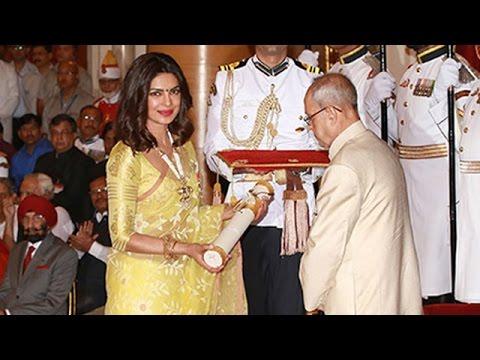Priyanka Chopra Honoured With Padma Shri Award