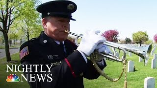 Meet The Man Who Took Up Music For Veterans | NBC Nightly News