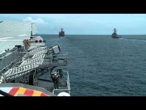 เรือหลวงจักรีนฤเบศร หนึ่งในเรือธงแห่งราชนาวีไทย