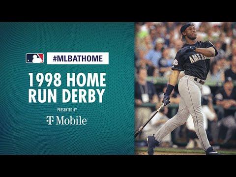 1998 Home Run Derby  (Ken Griffey Jr. Goes Off!) | #MLBAtHome
