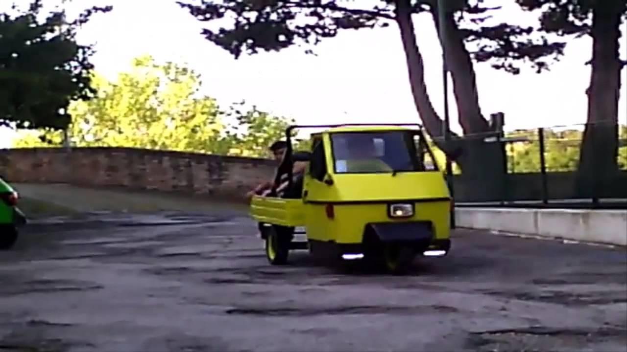 Schema Elettrico Ape 50 Monofaro : Ape a ruote youtube