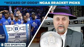 The WIZARD OF ODDS picks his  2019 NCAA TOURNAMENT BRACKET | CBS Sports HQ