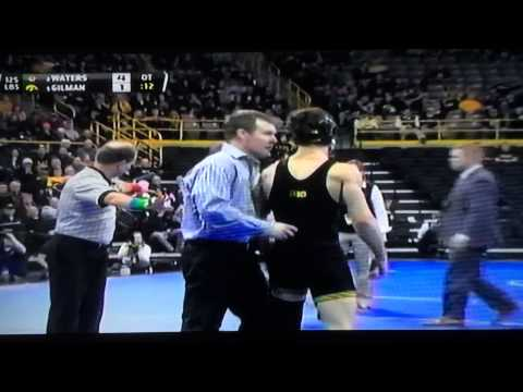 Waters illegally slammed by Gilman