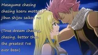 Fairy Tail opening 15 [full version] with lyrics