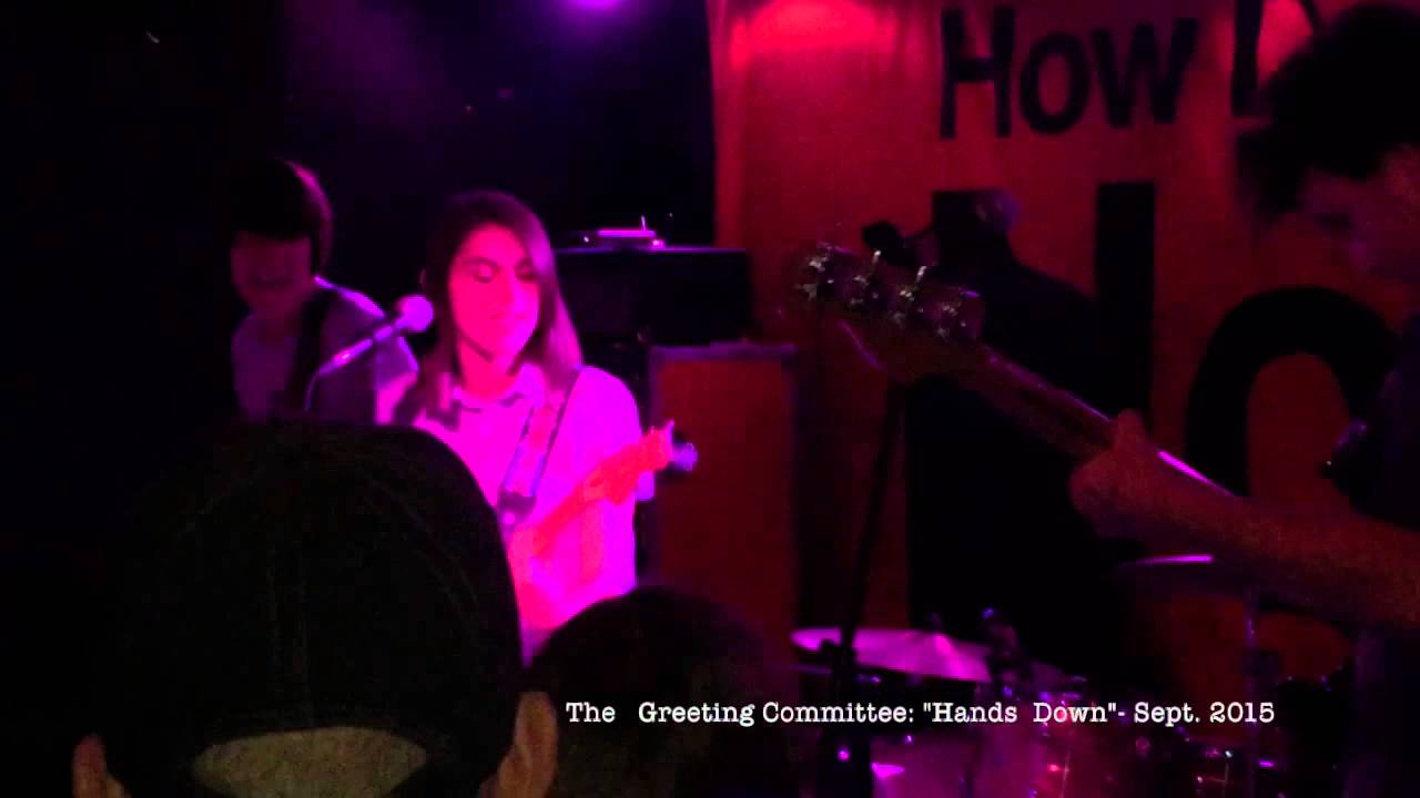 The Greeting Committee: Hands Down (Live) @ The Riot Room Sept.27 ...
