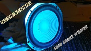 Sony Shake Woofer - Vertical Sound Test