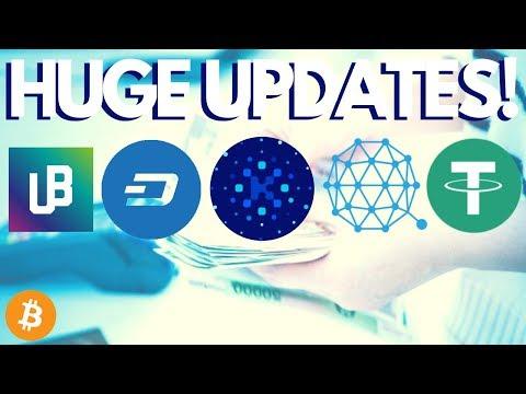 Top Crypto Stories – Unibright Launch, Tether Drama, Qtum Adoption, Dash, Kin and ABBC!