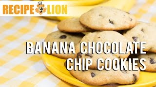 Easy Cookie Recipe: Banana Chocolate Chip Cookies