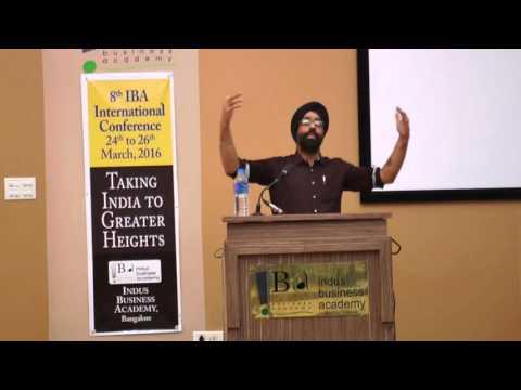 8th IBA International Conference - Mr. Ravijot Singh (Nationalist; Tweeter: @NationalistRavi)
