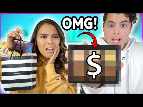 Fiancé Buys My Makeup Challenge! *HE SPENT HOW MUCH?! Natalies Outlet