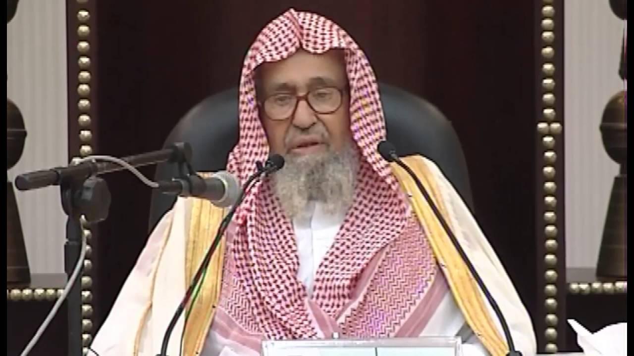 هل خروج المني في النوم الإحتلام ي بطل الصيام الشيخ صالح الفوزان Youtube