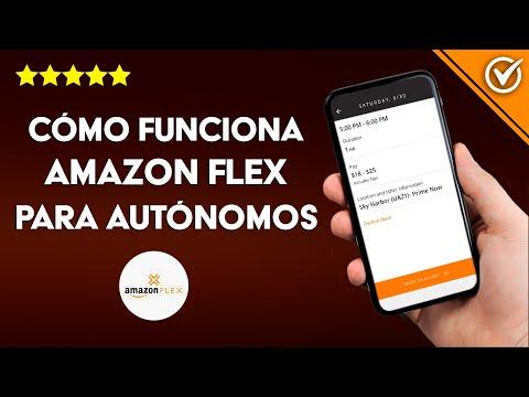 Cómo Funciona la App de Amazon Flex para Autónomos y Cuánto se Gana