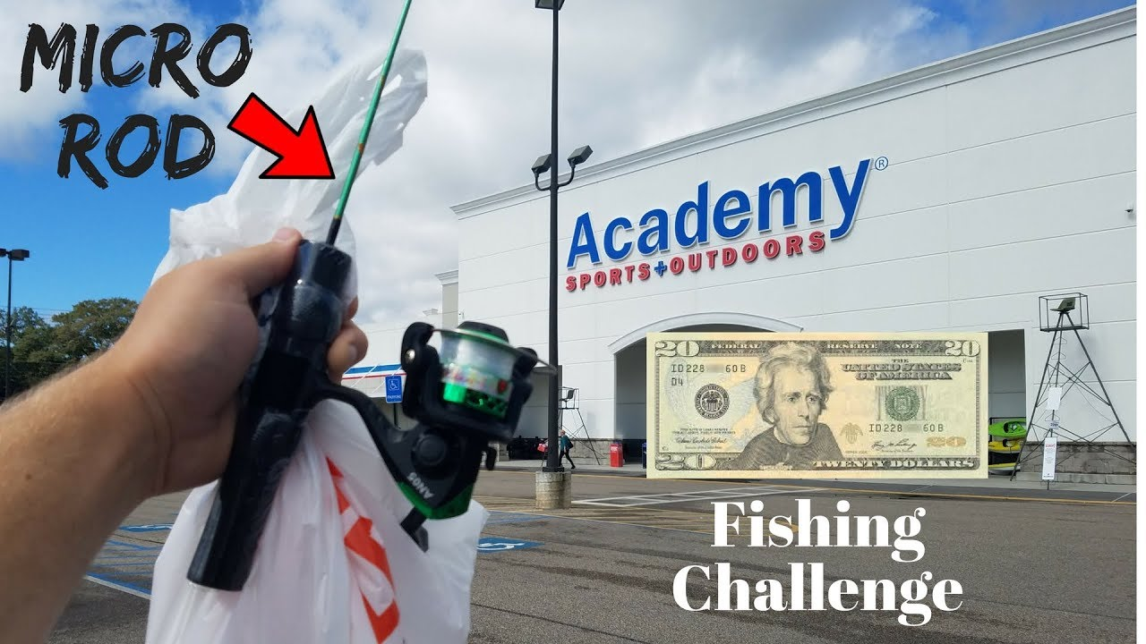 20 academy micro fishing challenge surprising results for Academy sports fish finders