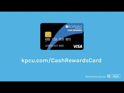 KeyPoint Credit Union Visa Platinum Cash Rewards Credit Card