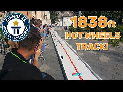 Longest Hot Wheels track – Guinness World Records