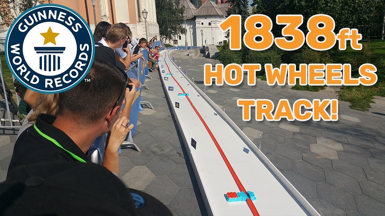 Longest Hot Wheels track - Guinness World Records