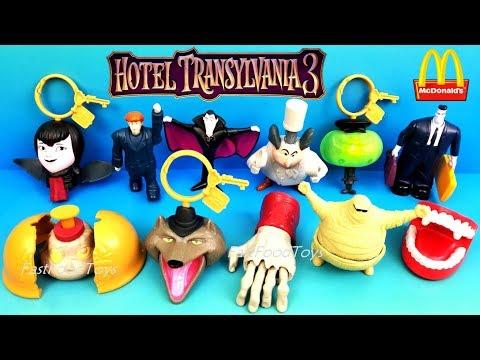 2018 mcdonald s hotel transylvania 3 happy meal toys vs 2012 hotel transylvania 1 full world set 11 most popular videos
