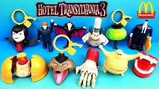 2018 McDONALD'S HOTEL TRANSYLVANIA 3 HAPPY MEAL TOYS VS 2012 HOTEL TRANSYLVANIA 1 FULL WORLD SET 11