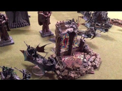Warhammer 40k Full Battle Report - Blood Angels vs Dark Eldar - Fast And Furious.