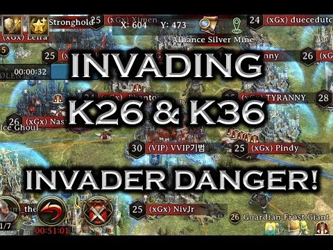 Iron Throne - Invading K26 and K36, Rallying a 12B, and More! Invader Danger!