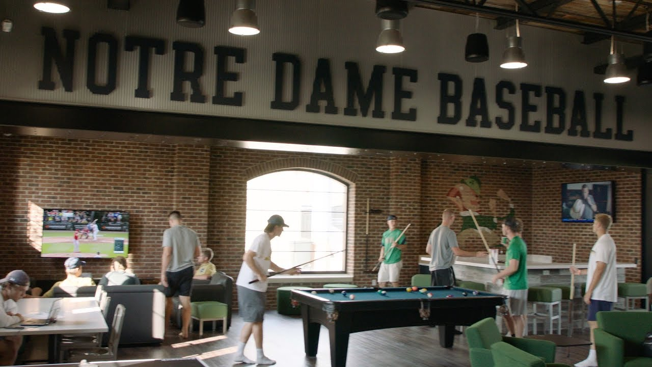 Notre Dame Baseball Team Room Tour