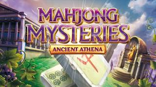 Mahjong Mysteries: Ancient Athena - Trailer [Nintendo 3DS]