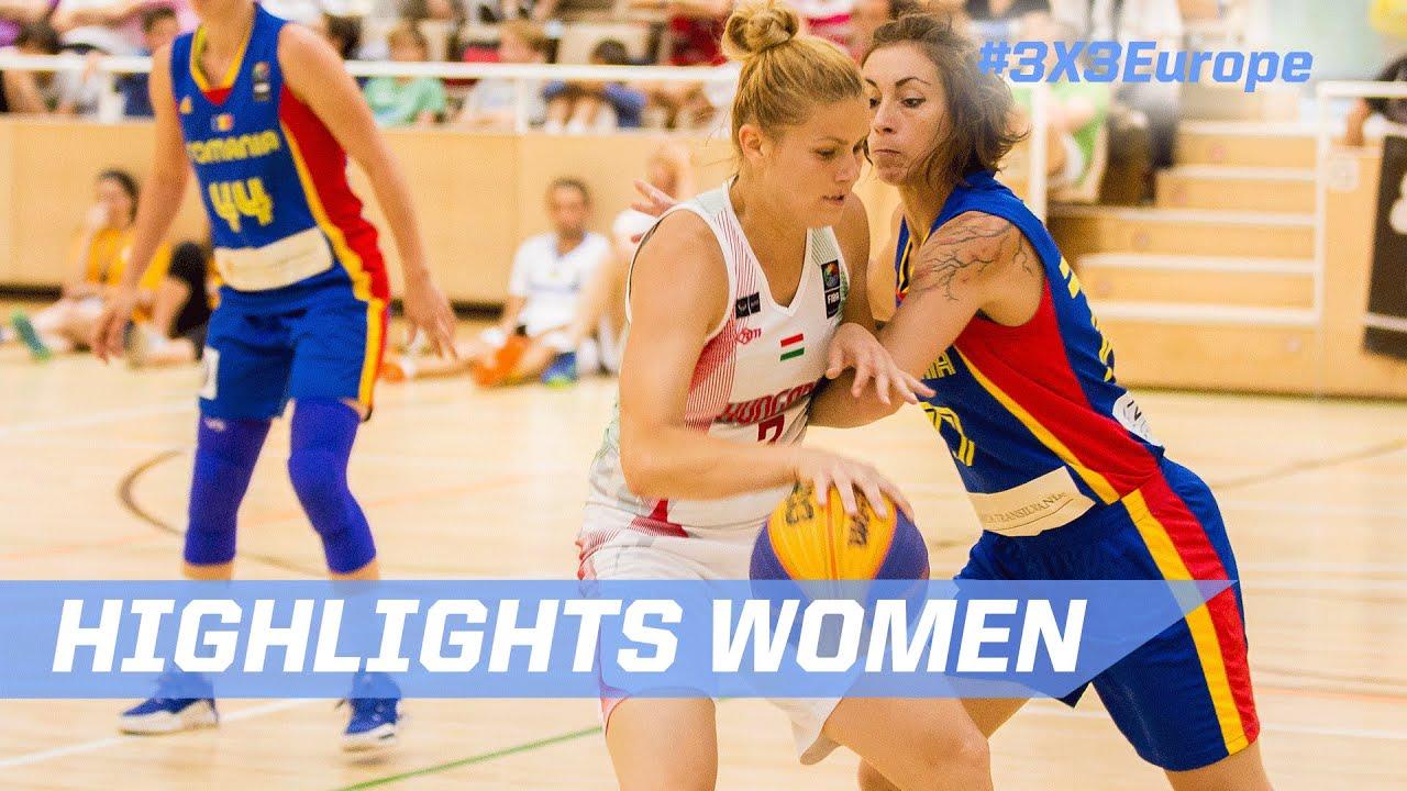 Final Highlights - Hungary v Romania - Andorra - 2016 FIBA 3x3 European  Championships Qualifiers f0c5960fb6