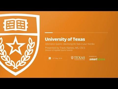 University of Texas Presentation | CSCCa 2018