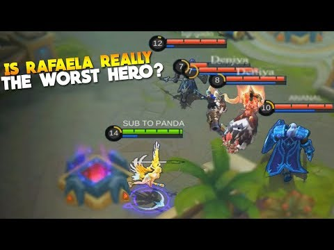 This Happens When Mythic Plays Rafaela Vs Noobs - Mobile Legends