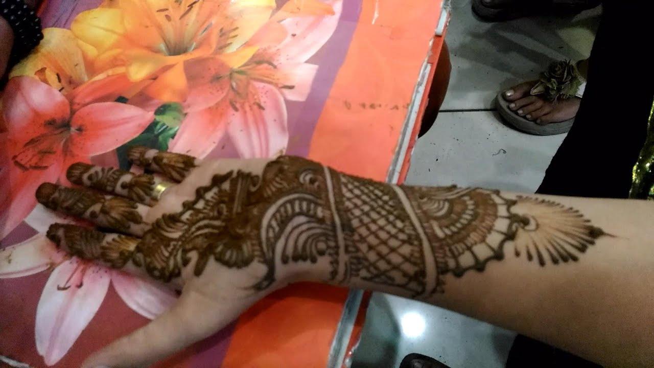 New Henna Mehndi Design म ह द कल Youtube