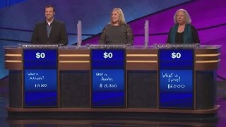 WATCH: This Final 'Jeopardy' Round Had a Super-Embarrassing (And Kind of Sad) Ending