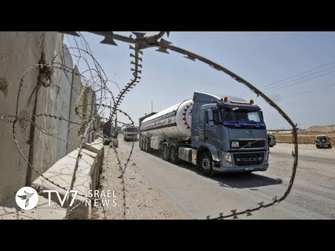 Israel resumes oil supply to Gaza, despite ongoing violence - 24.10.18 TV7 Israel News