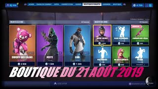 """FORTNITE: Shop 21 August, New """"cuddly camouflage"""" coating, caid, plague, secret agent"""