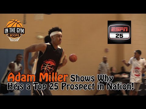 Adam Miller Shows Why He's a Top 25 Prospect in his Class! ISR AA Camp Highlights