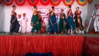 Chhatrapati Shivaji Maharaj Rajyabhishek- Theme Dance