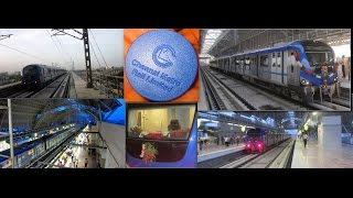 First Day Show : Chennai Metro Inauguration Day : Alandur - Koyambedu