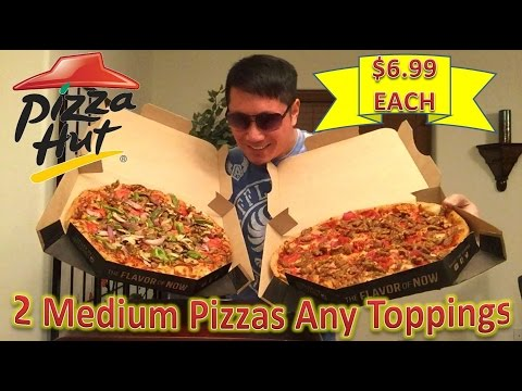 Pizza Hut Supreme & Meat Lover's $6.99 Medium Pizza Review thumbnail
