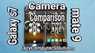 Huawei Mate 9 Vs Galaxy s7 Edge Ultimate Camera Comparison   SHOCKING RESULTS !!!