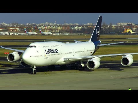 35 Minutes Plane Spotting At Berlin Tegel Airport Including NEW Lufthansa Livery On 747-8i