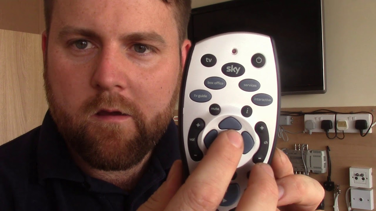 How To Tune Sky Remote To TV