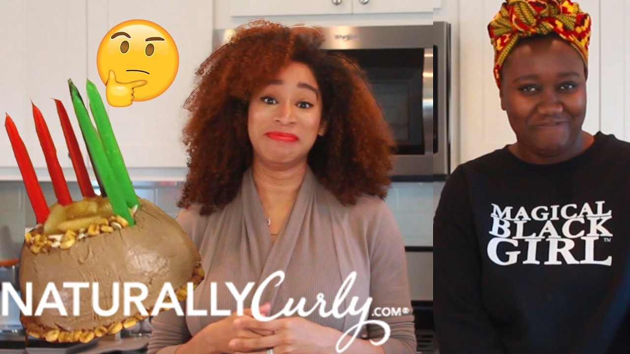 we tried to make sandra lee's kwanzaa cake 😅 ✊🏿 - youtube
