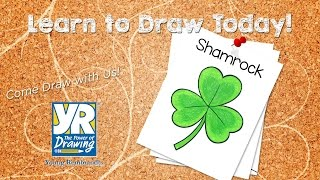 Teaching Kids How to Draw: How to Draw a Shamrock